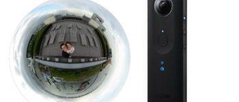 """Nowa kamera od Ricoh może przesyłać obraz """"na żywo"""" w 360 stopniach"""