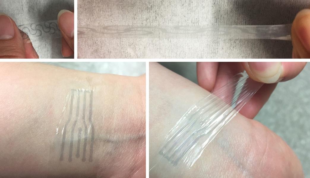 Naukowcy tworzą rozciągliwą elektronikę przy pomocy zagęszczacza do zupy