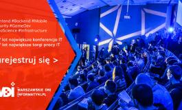 Ostatnie dni rejestracji na największe wydarzenie IT dla studentów i specjalistów w Polsce – Warszawskie Dni Informatyki